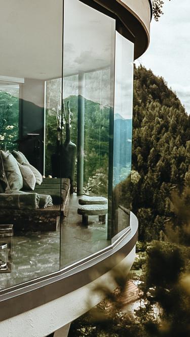 modern design hotel mountain-moramonti italy
