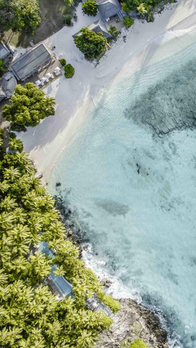 beach view-north island hotel seychelles