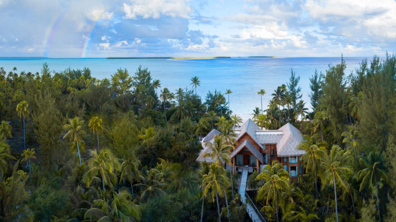 luxury private beach villa-the brando south pacific