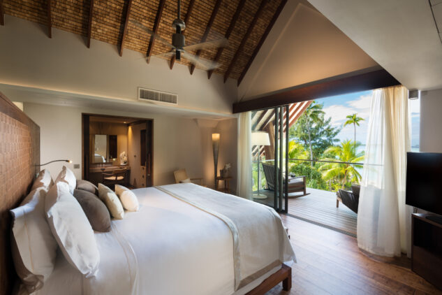 bedroom with a view-the brando south pacific