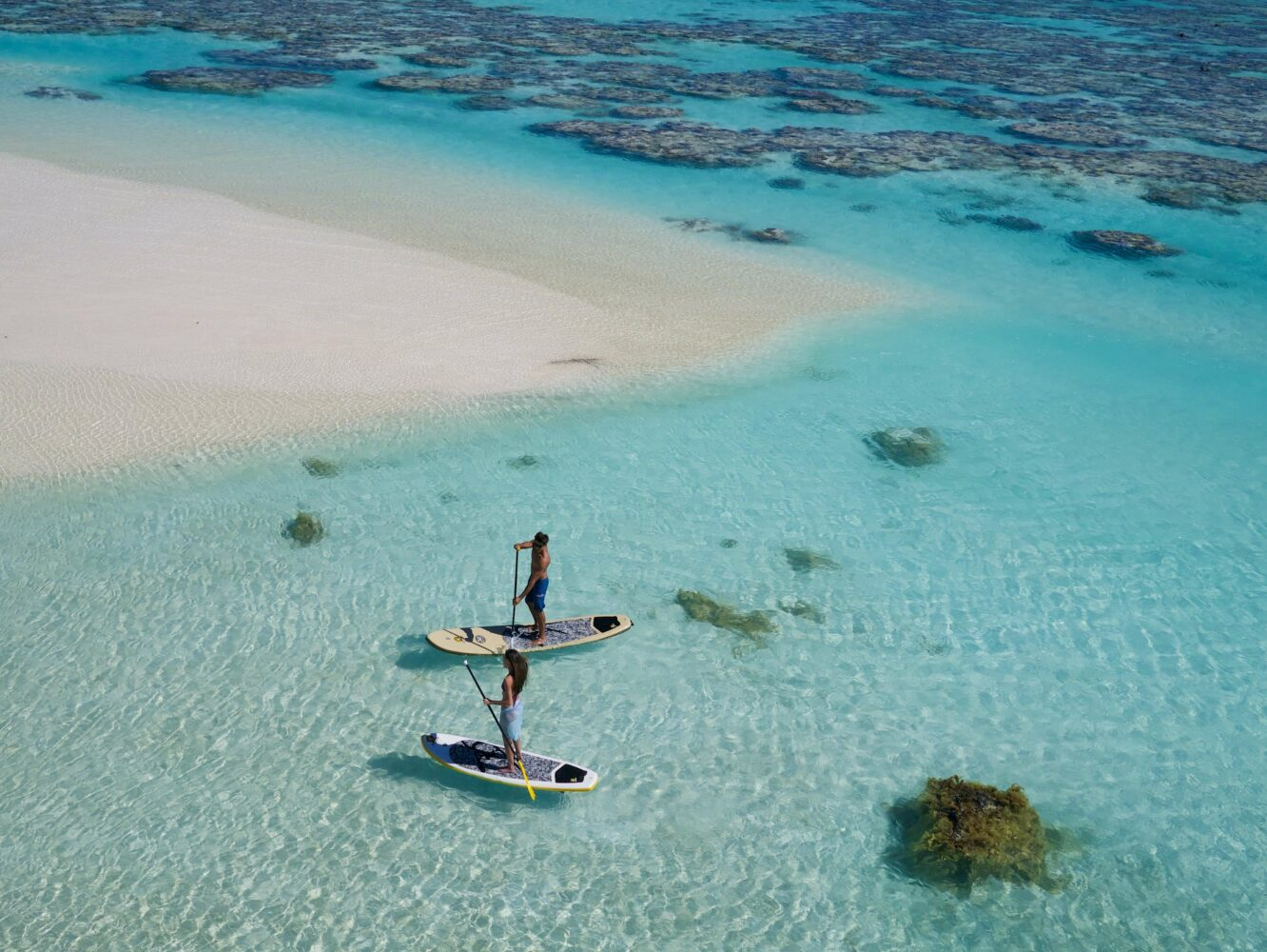 SUP-the brando french polynesia