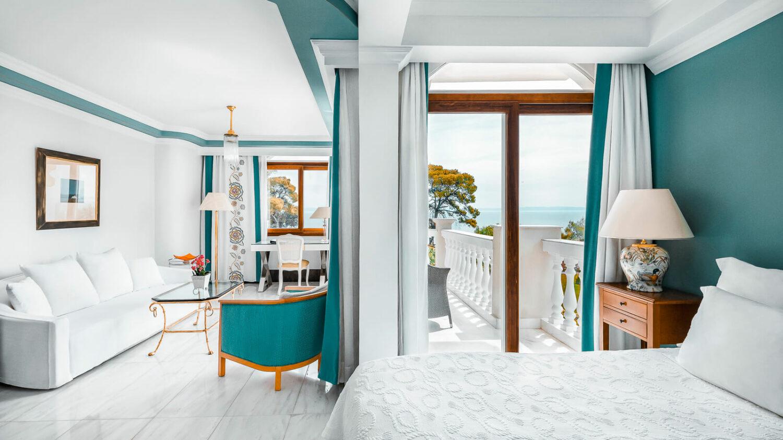 suite sea view-the danai beach resort greece