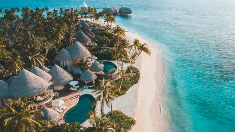 beach villa with pool-the nautilus maldives