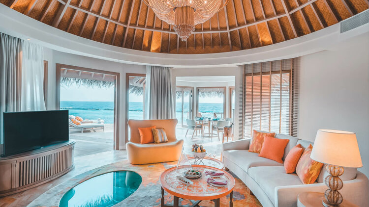 the nautilus maldives-livingroom