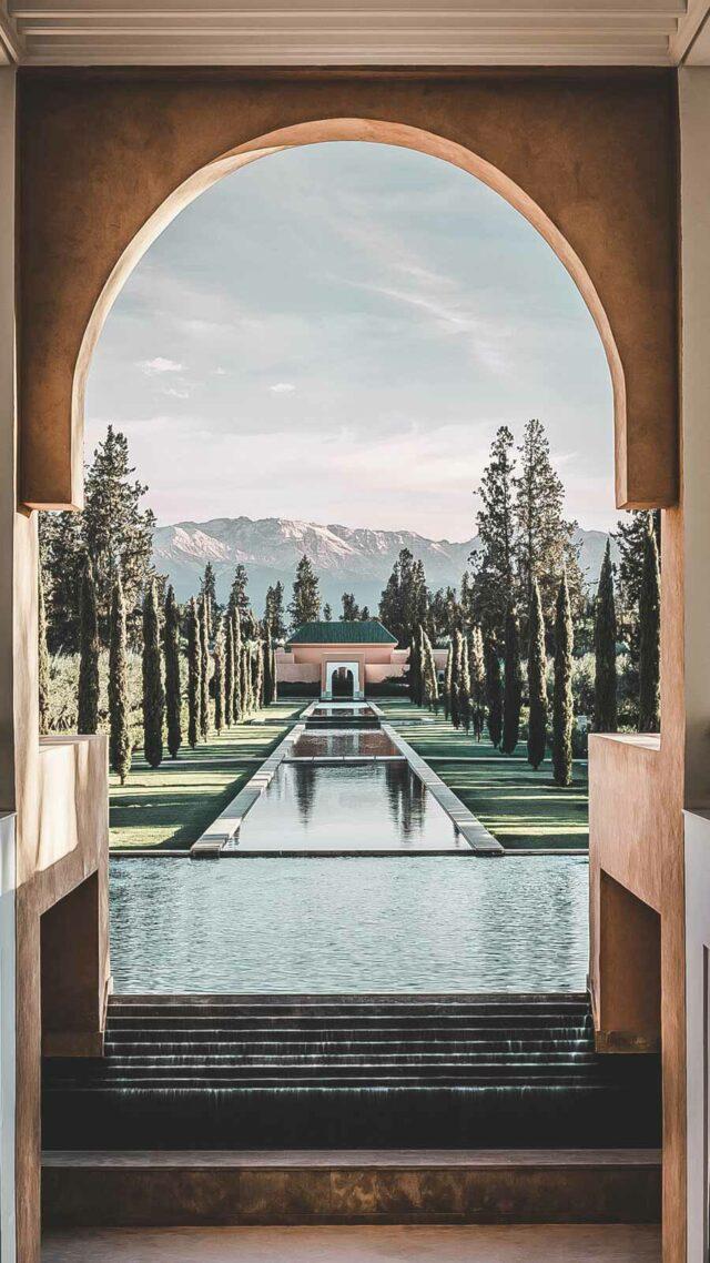ayurvedic spa pool-the overoi marrakech