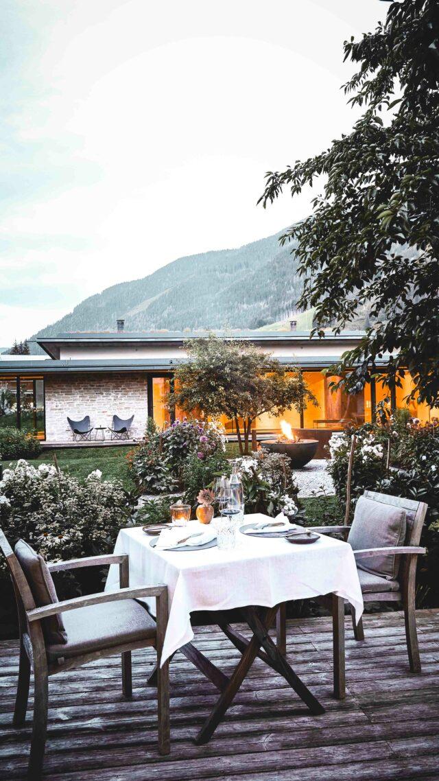 romantic dining restaurant-wiesergut austria