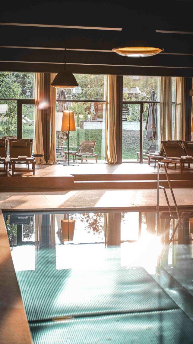 indoor hotel pool-wiesergut austria