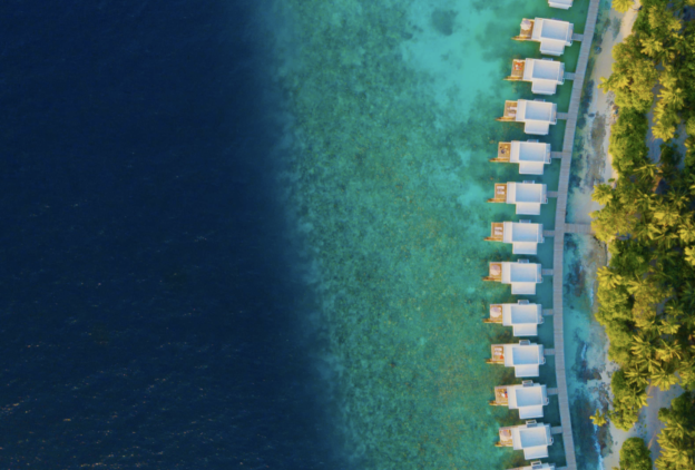 location overwater villas-dhigali maldives