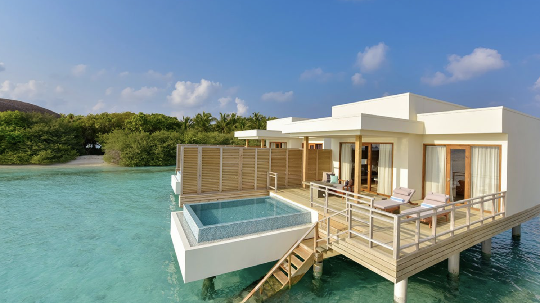 villa with infinity pool-dhigali maldives