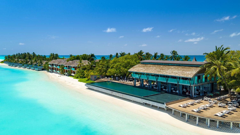 main pool beach-kuramathi maldives