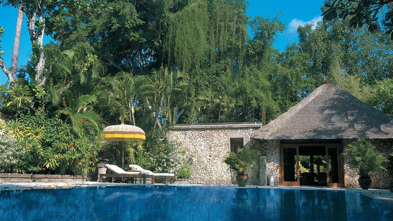 luxury villa with private pool-The Oberoi Beach Resort Bali