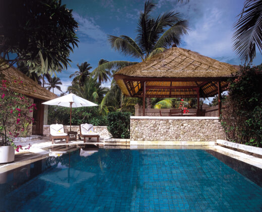 private villa with pool-the oberoi beach resort lombok