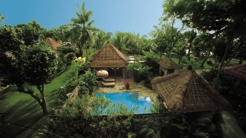 royal ocean view villa with pool -the oberoi beach resort bali