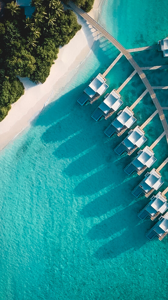 overview private island-dhigali maldives