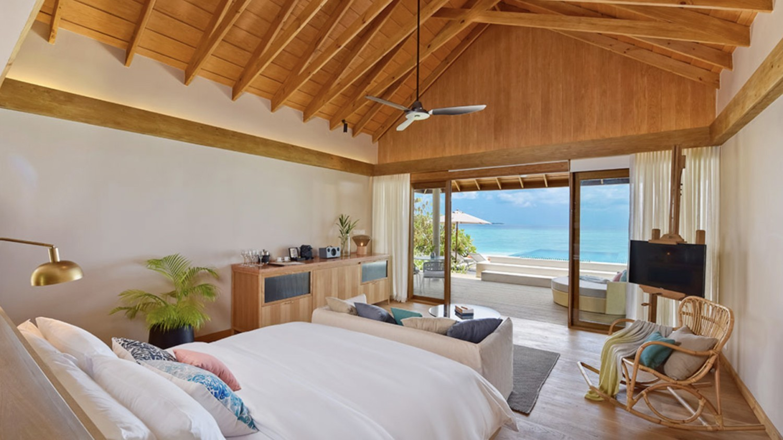 bedroom view indian ocean-faarufushi maldives