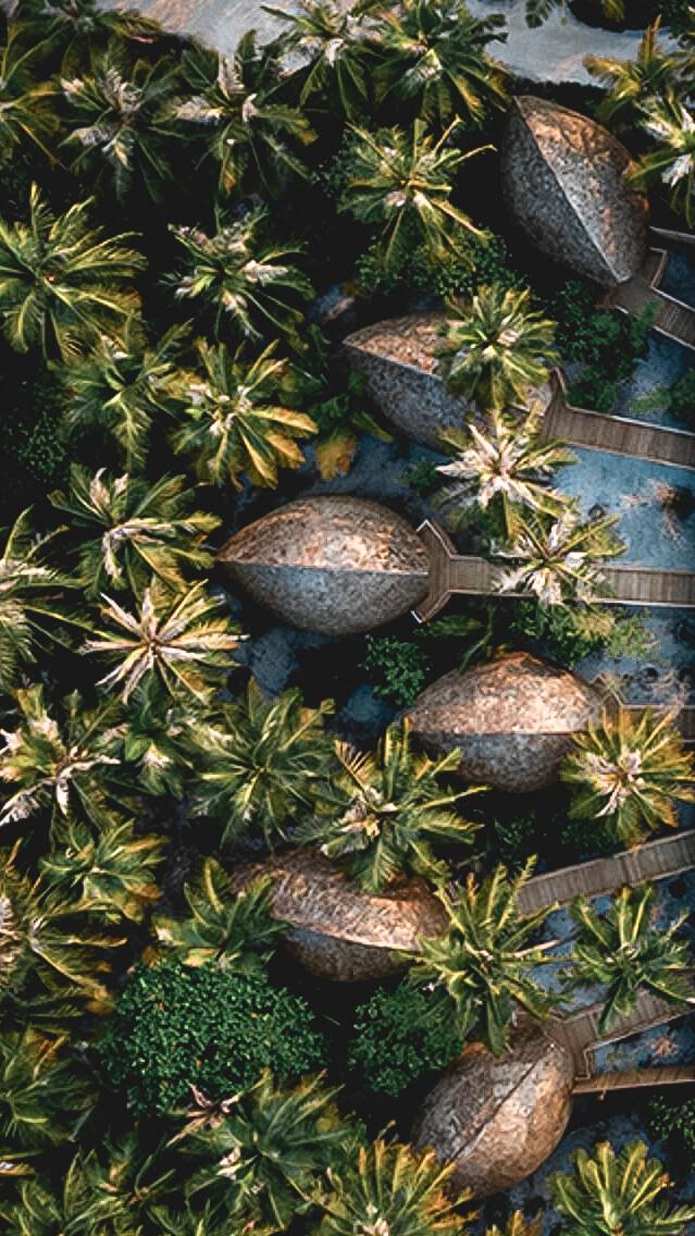 overview beach villas-faarufushi maldives