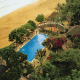 main pool beach-the oberoi beach resort bali