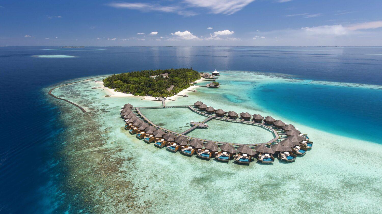 aerial location-baros maldives