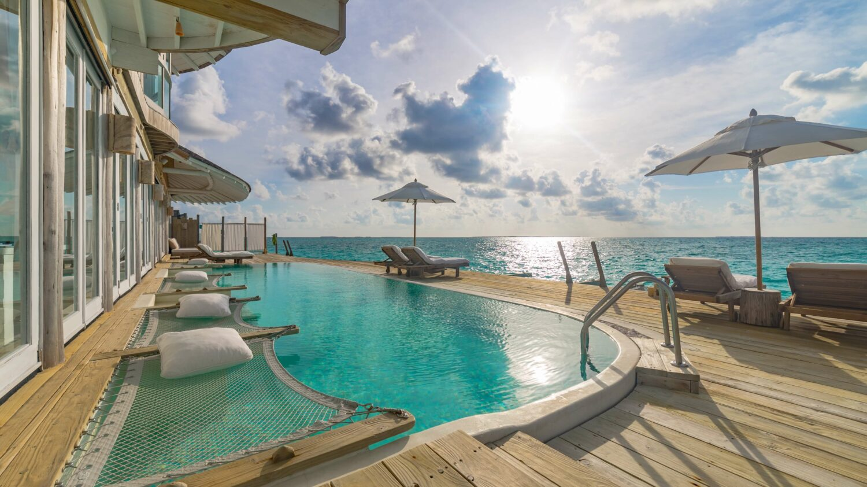 overwater villa with slide-soneva jani maldives