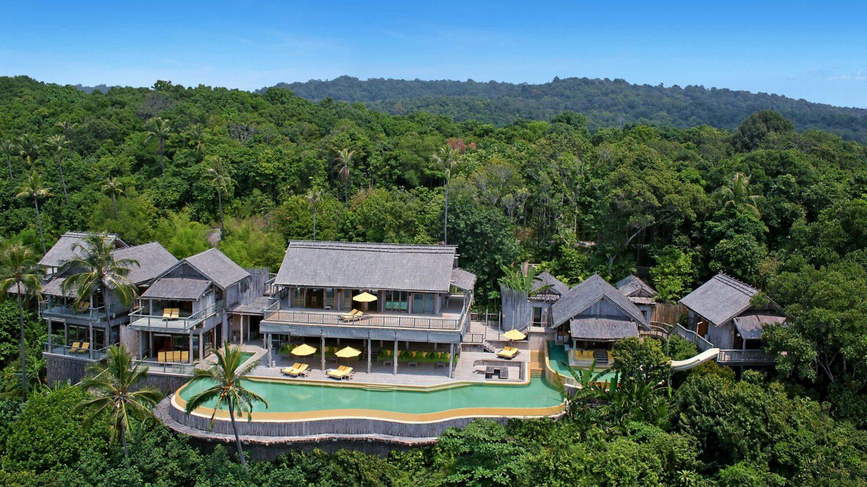 view villa hotel-soneva kiri thailand