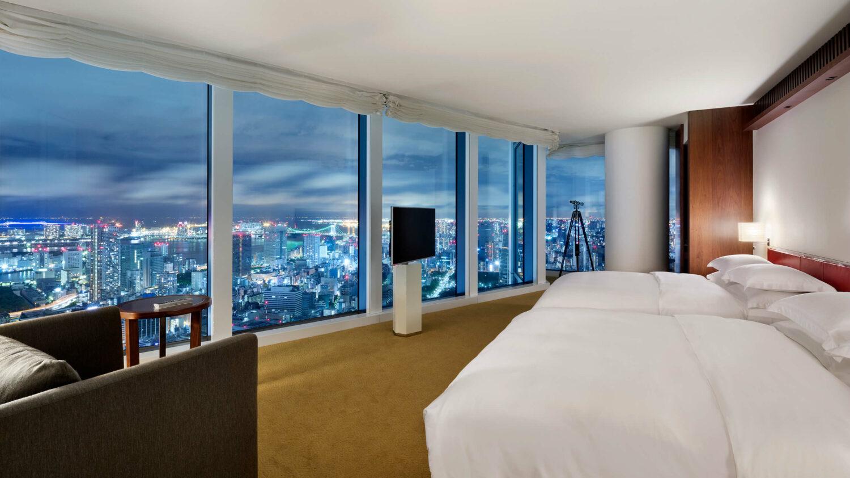 bedroom suite-andaz tokyo toranomon hills