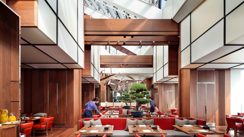luxury restaurant-andaz tokyo toranomon hills