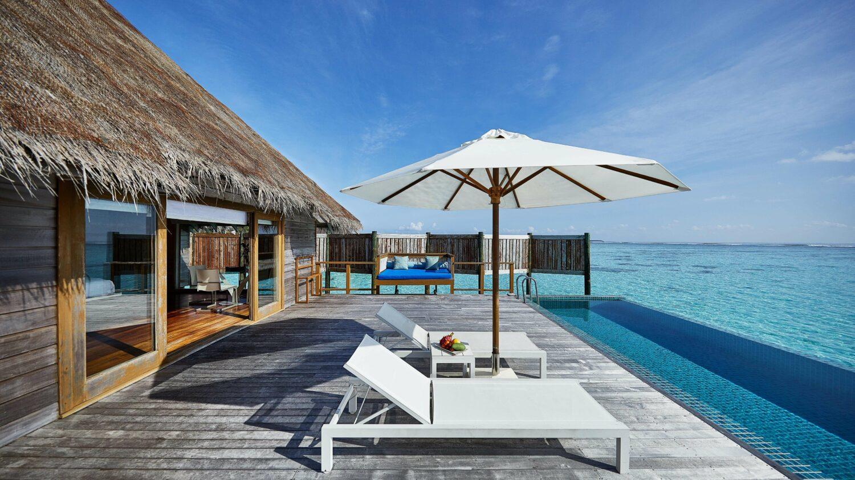 terrace premier water villa-conrad maldives