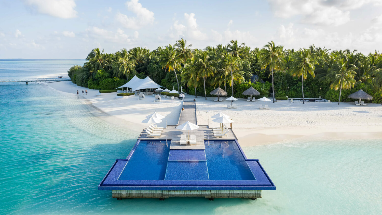 quiet area main pool-conrad maldives