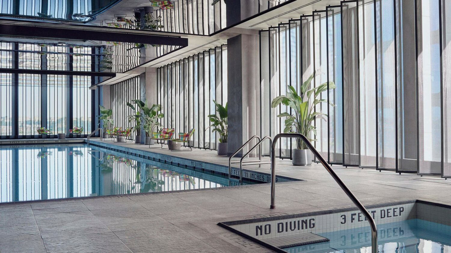 heated indoor pool-equinox hotel new york city