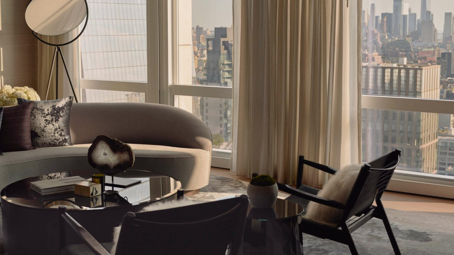 livingroom view-equinox hotel new york city