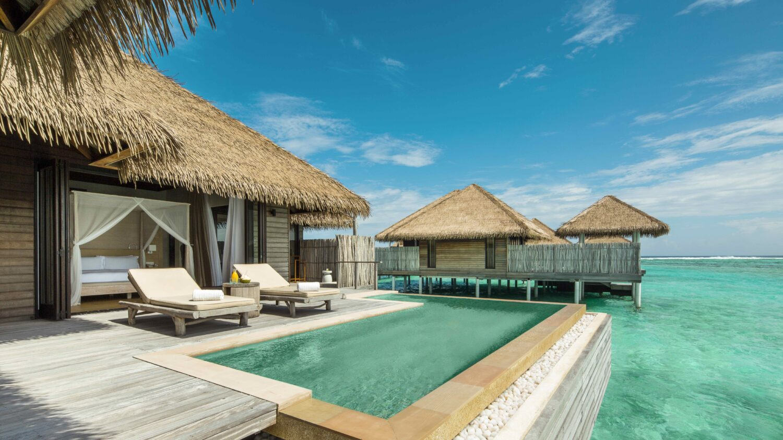 over watervilla with pool-COMO maalifushi maldives