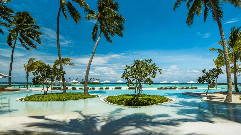 pool area-COMO maalifushi maldives