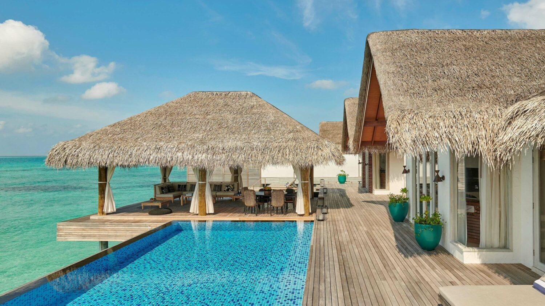 overwater villa with pool-fairmont maldives