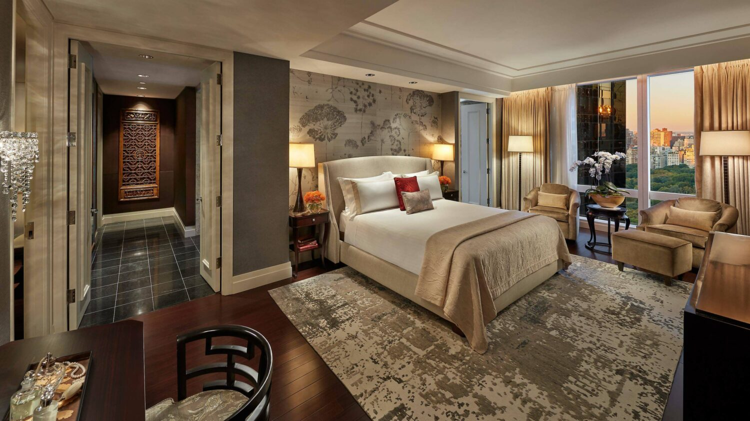 presidental suite-mandarin oriental new york city