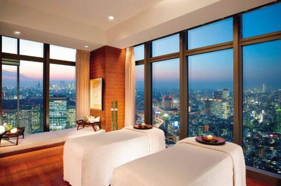 private spa suite view-mandarin oriental tokyo