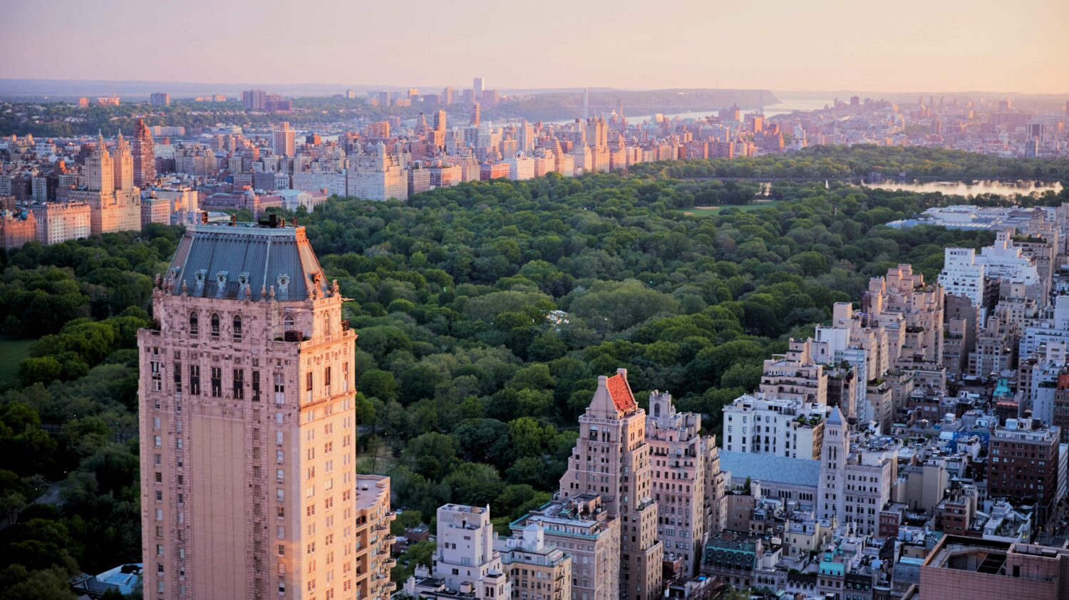 view central park-four seasons new york city
