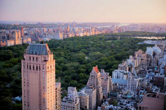 view central park-four seasons new york city