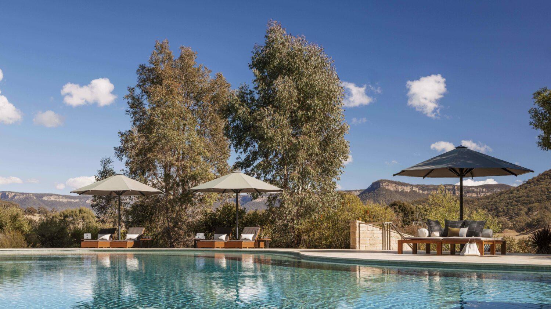 outdoor pool-emirates one&only wolgan valley australia