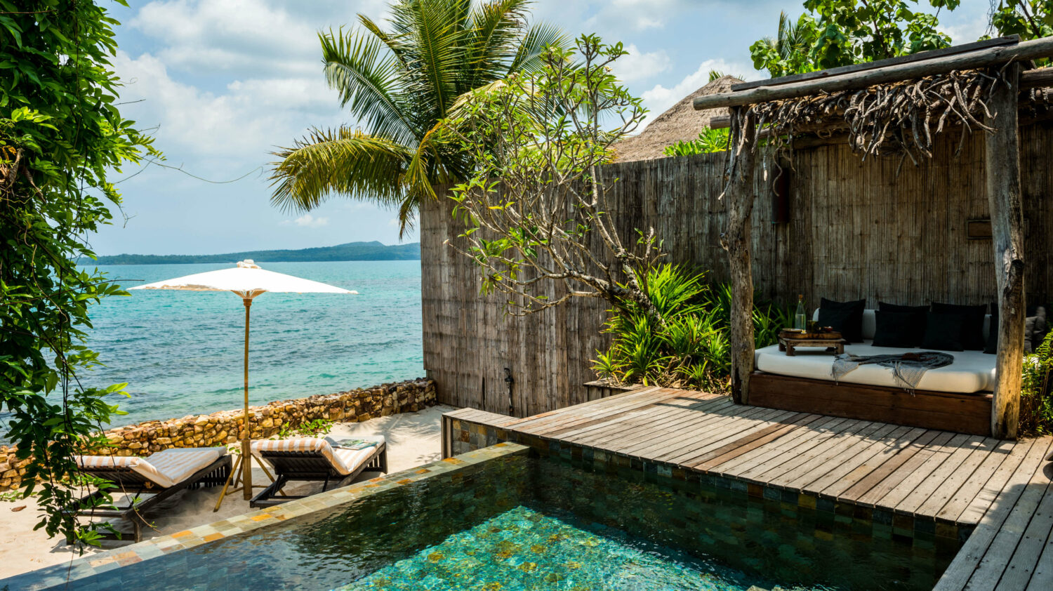 private pool villa-song saa cambodia