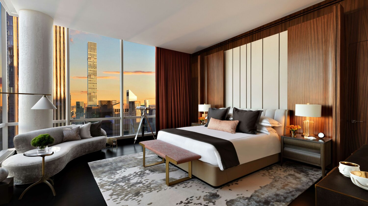 bedroom suite-park hyatt new york city