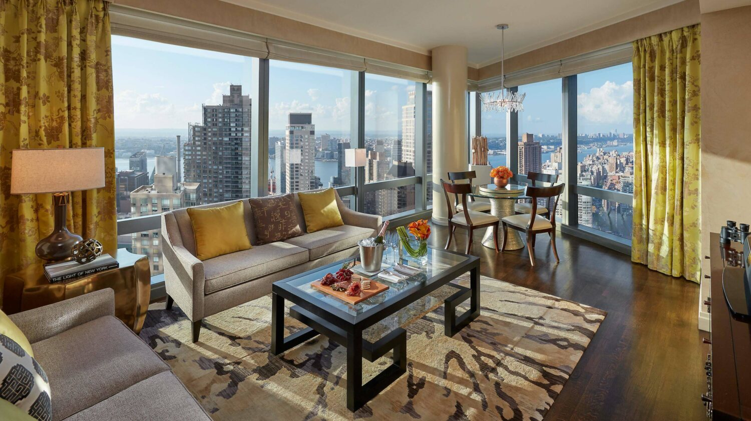 skyline suite-mandarin oriental new york city