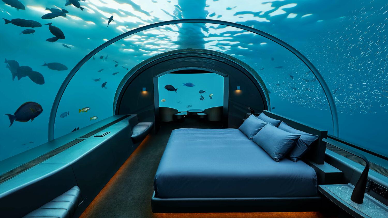 underwater bedroom-conrad maldives