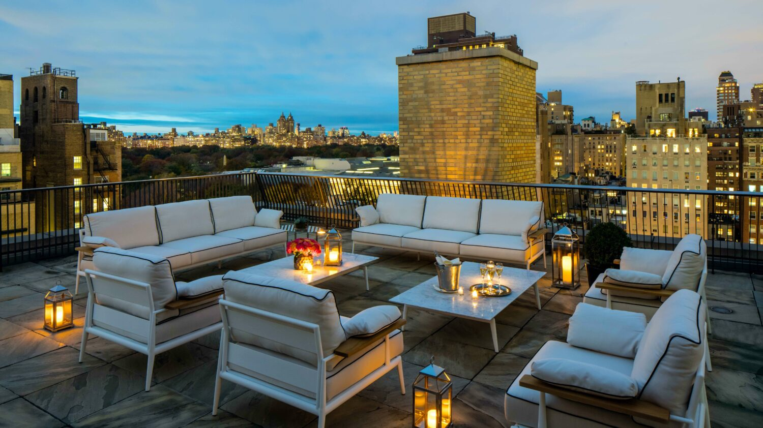 penthouse terrace-the mark new york city