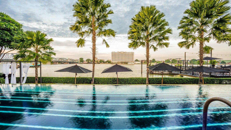 outdoor swimming pool-the siam bangkok