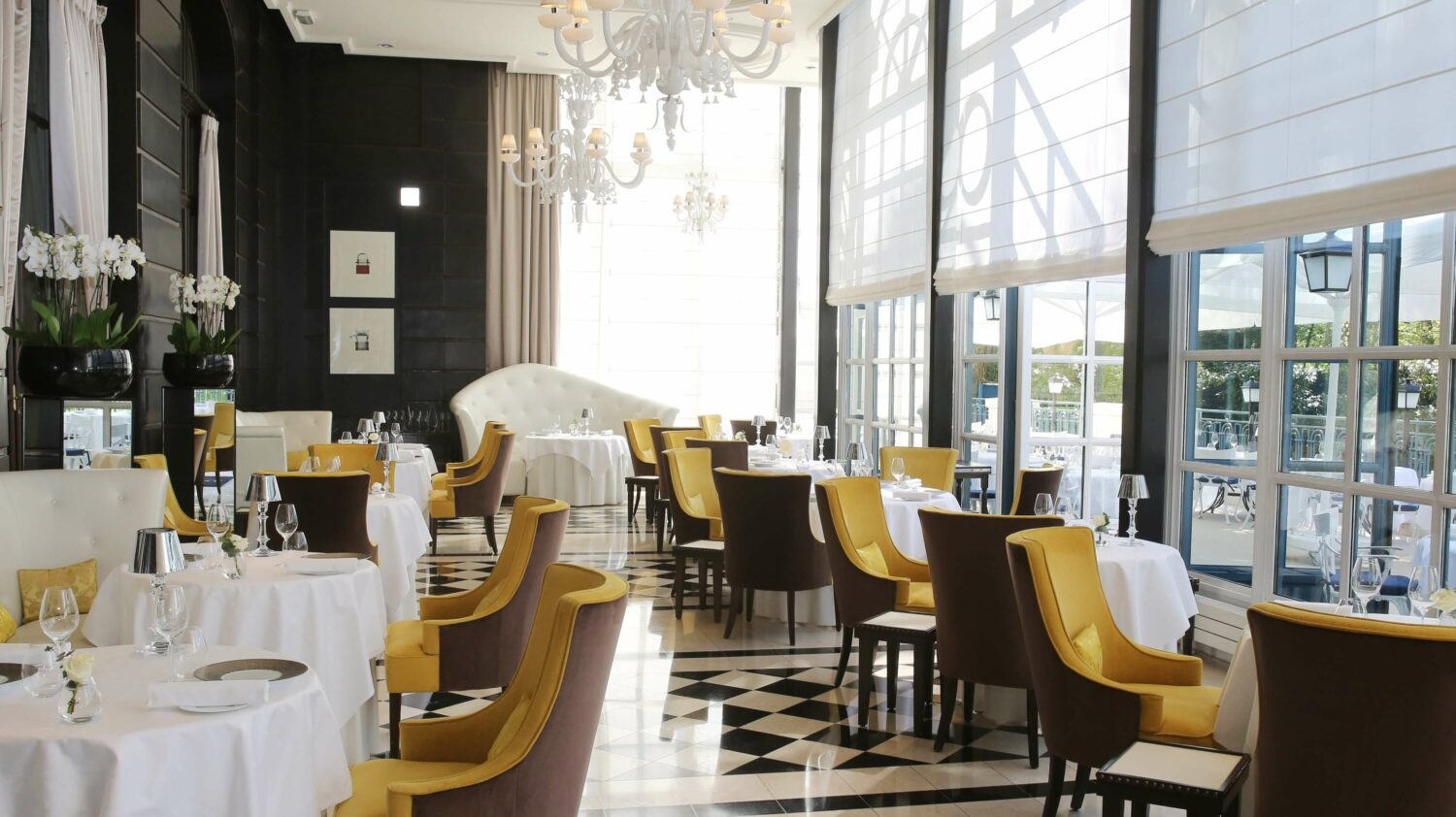 gordon ramsay restaurant-waldorf astoria versailles - trianon palace france