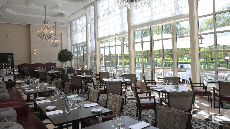 la veranda gordon ramsay restaurant-waldorf astoria versailles - trianon palace france
