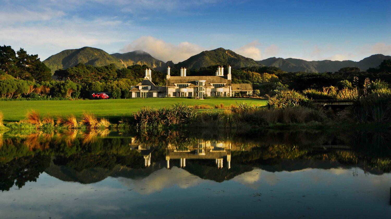 overview hotel-wharekahau new zealand