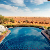 pool view-al maha desert resort