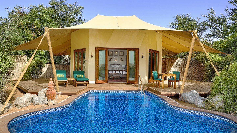 suite with pool-al maha desert resort