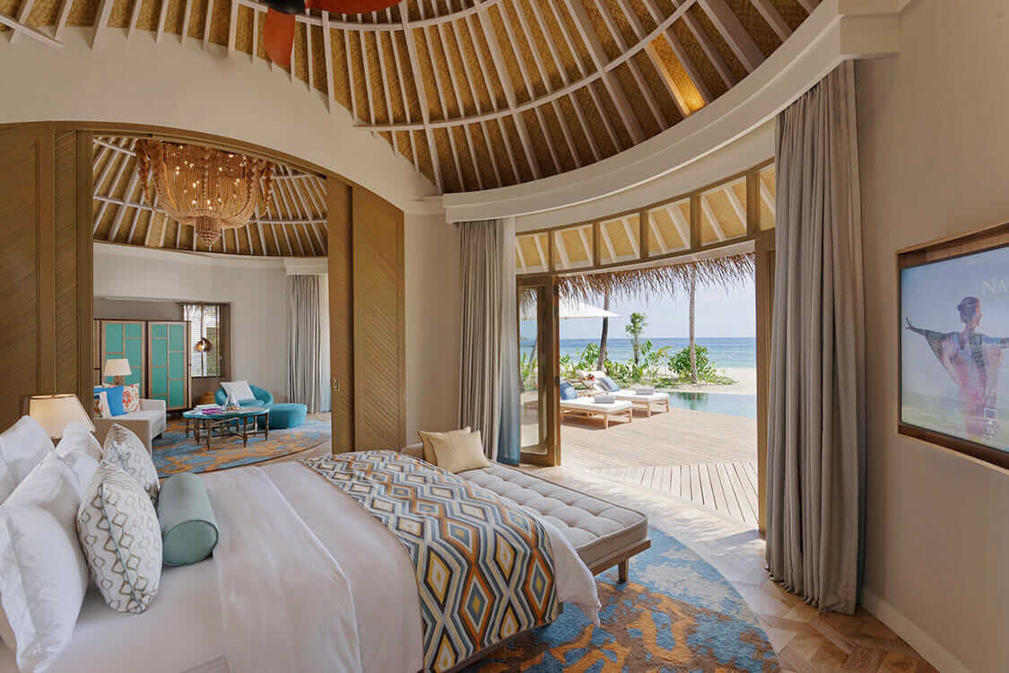 bedroom view-the nautilus maldives